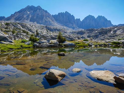 Mt Aggasiz, Tunderbolt, and North Palisade | by snackronym