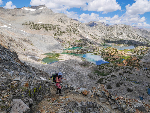 Descending from Bishop Pass | by snackronym
