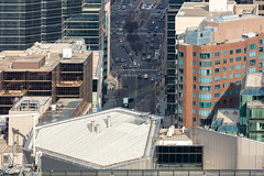 University Avenue Toronto From Above