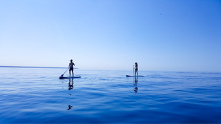 Stand up paddle boarding | by Kent Wang