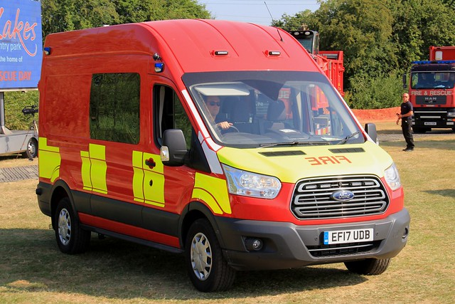 West Yorkshire Fire & Rescue Service Ford Transit Urban Search and Rescue Van