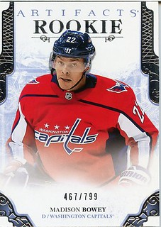 2017-18 Artifacts #RED209 Madison Bowey RC | by capsfan30