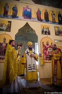 Литургия в Ильинском соборе 570