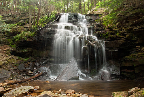 waterfall pennsylvania falls pa waterfalls sullivancounty loyalsock loyalsockstateforest dutchmanfalls dutchmansrun vermontdreams