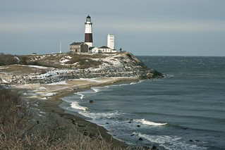 Montauk lighthouse in snow-02 | by Erik Anestad