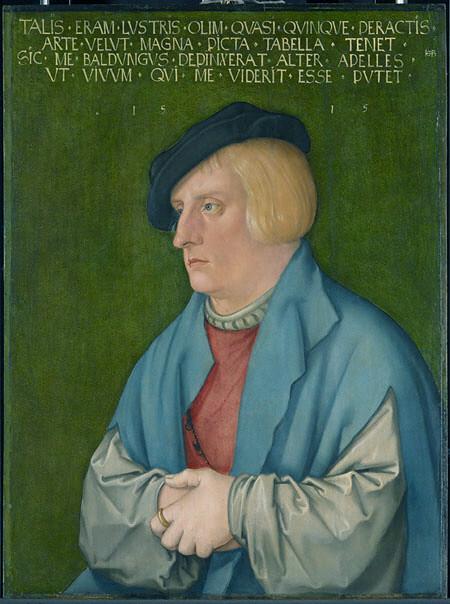 Hans Baldung Grien - Self-portrait [1515]