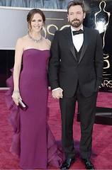 Jennifer Garner and hubby Ben Affleck Oscars 2013