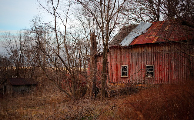 Abandoned Barn, Arcola Virginia