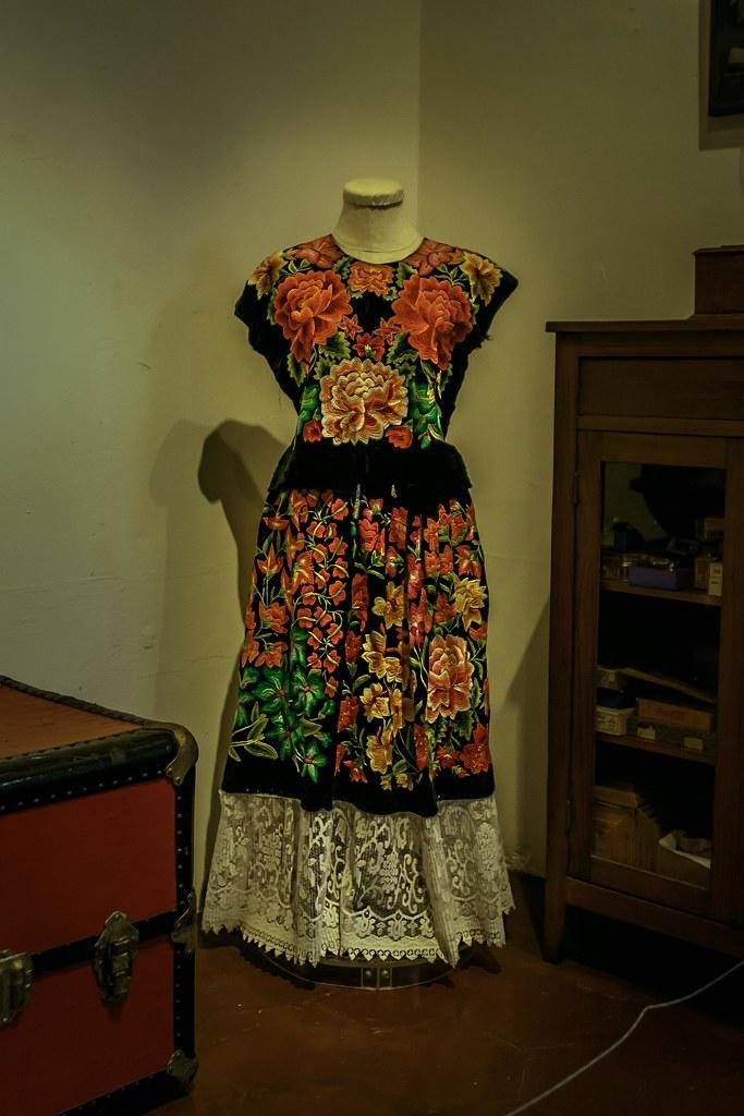 Vestido De Frida Kahlo Frida Kahlos Dress Museo Frida Kah