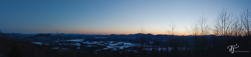 sunset panorama photoshop canon eos march unitedstates newhampshire panoramic northumberland dslr snowmobiling northcountry morsemountain 2013 400d groveton digitalrebelxti