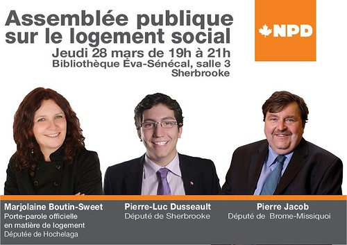 Réunion publique à Sherbrooke | by PierreJacob
