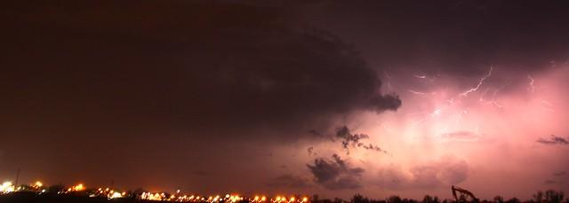 032913 - Our 1st Severe Thunderstorms in South Central Nebraska