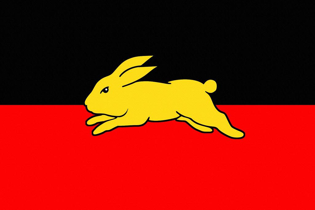 South Sydney Rabbitohs Aboriginal Flag Wallpaper V1 By S Flickr