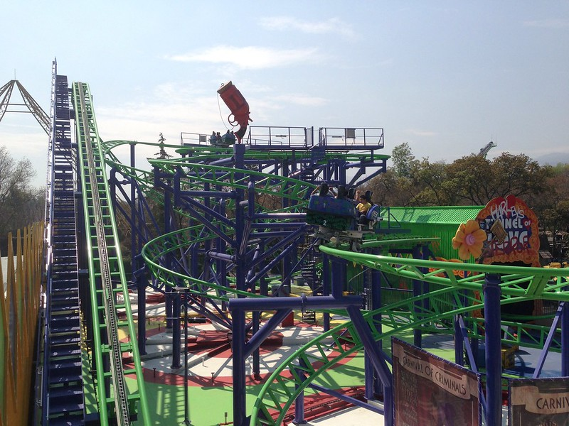 Joker en Six Flags Mexico