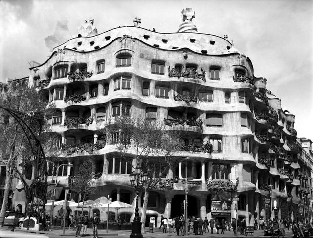 Casa Mila from the street.