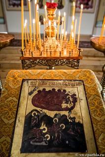 Литургия в Ильинском соборе 45