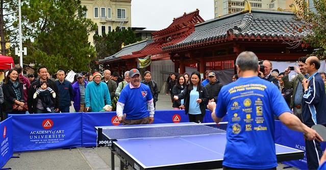 San Francisco Mayor Ed Lee: Ping Pong Champ