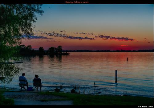 couple sonya7rii fishing thecolony texas sunset sonyzeisssonnartfe55mmf18za lakelewisville