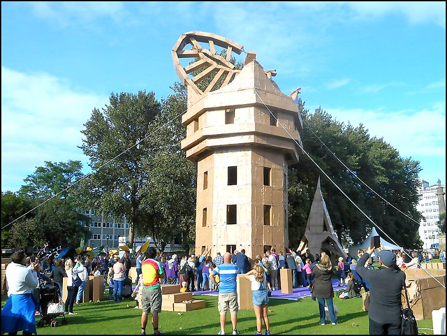 The Peoples Tower ..