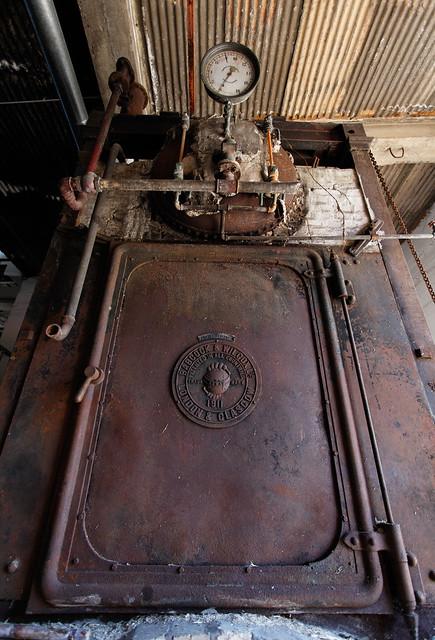 Steam generator at old distillery