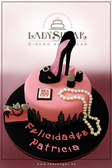 Tarta Sexo en Nueva York / Sex and the city cake