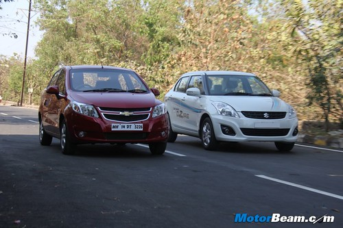 Chevrolet-Sail-vs-Maruti-DZire-19 | by Motor Beam