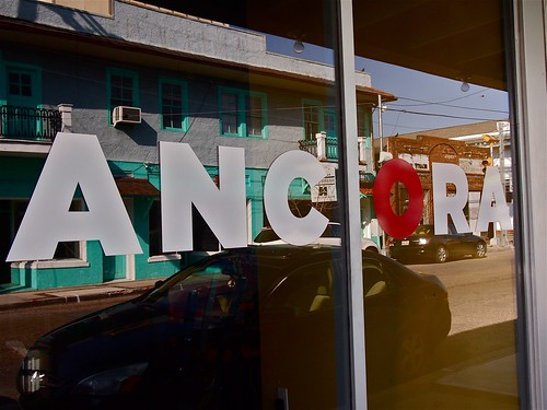 Ancora on Freret Street. Photo by Melanie Merz.