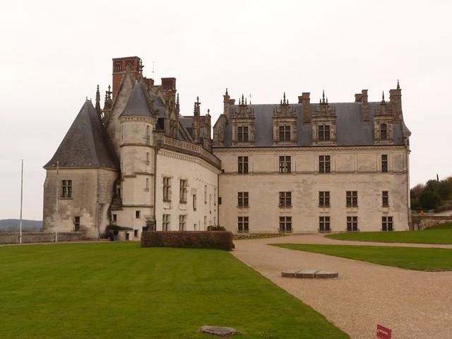 Castillo de Amboise (Valle del Loira, Francia)