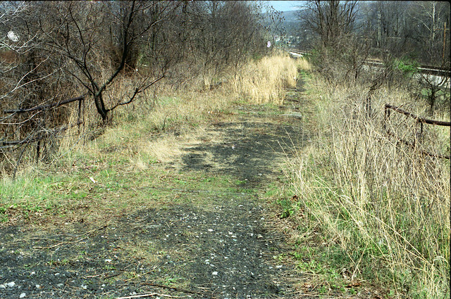 Abandoned PRR right of way