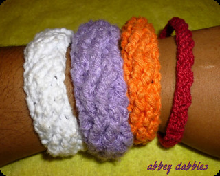 Sascha Cabled Bangles   by abbeydabbles