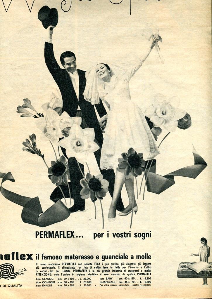 Pubblicita Materassi.Adv 1965 Pubblicita Materassi Paolo Flickr