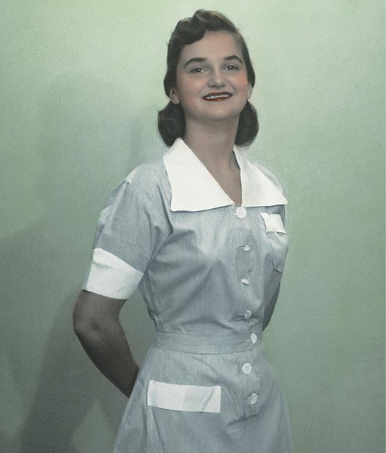 Nurse wearing uniform from Dominican Republic