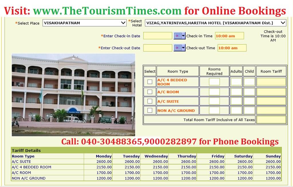Ap tourism packages