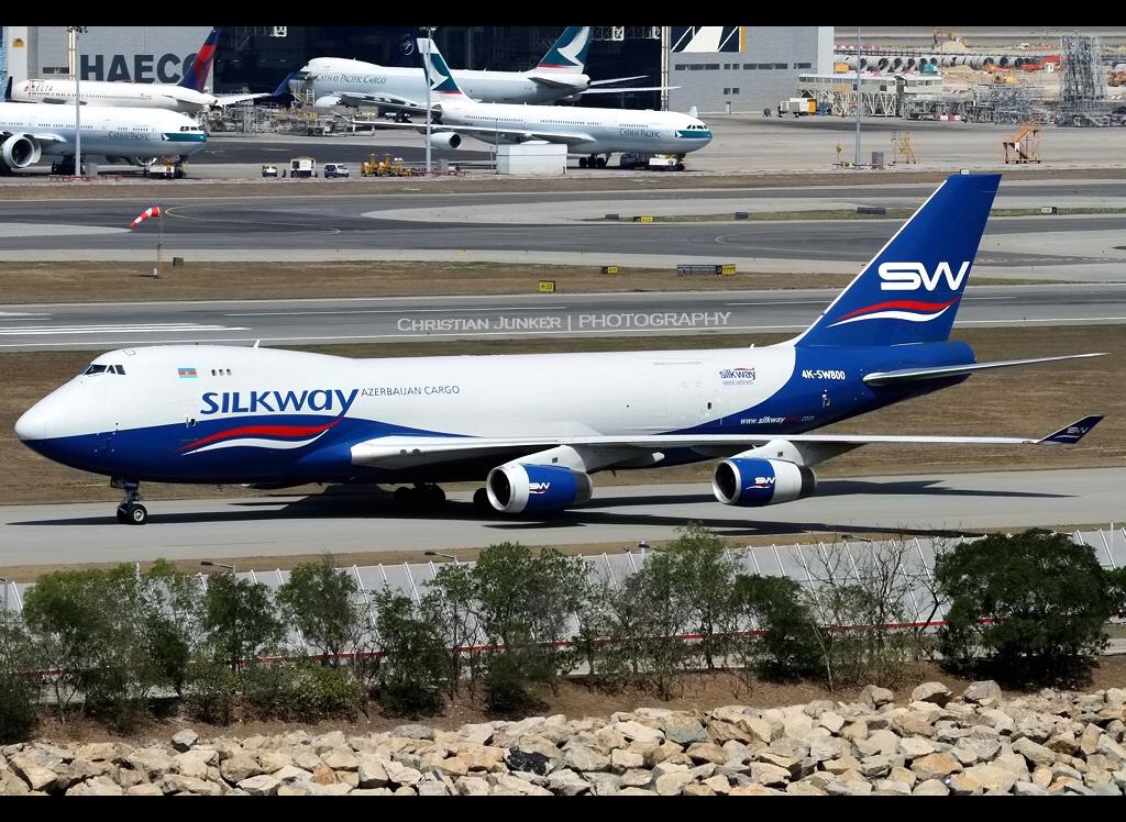B747-400F | Silkway West | 4K-SW800 | VHHH