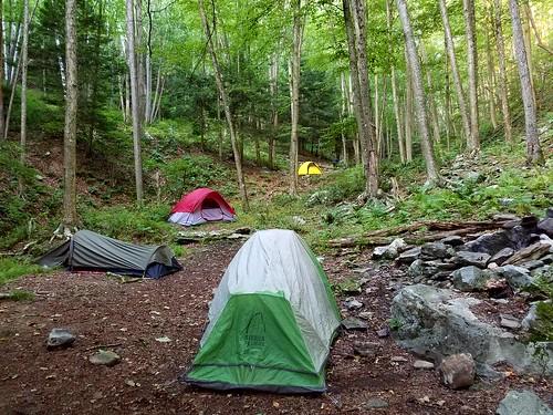 Camping at Bohen Run