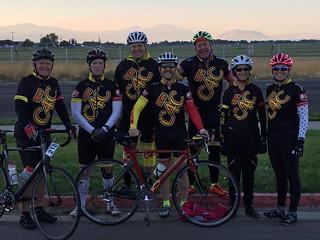 tour de donut team before