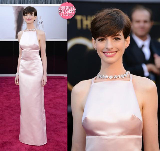 Anne Hathaway 安海瑟薇 in Prada