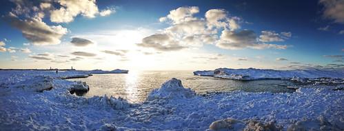 statepark blue winter sunset sky snow holland ice water weather michigan panoramic lakemichigan icebergs