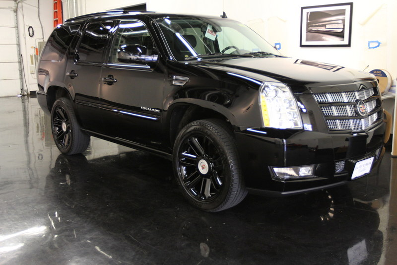 Image result for cadillac escalade blacked out 2013