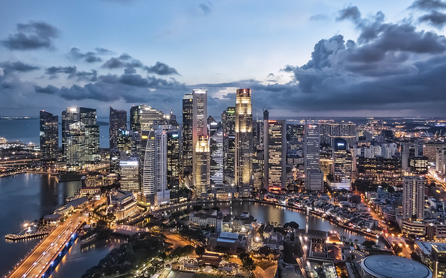 Singapore from Swissôtel The Stamford