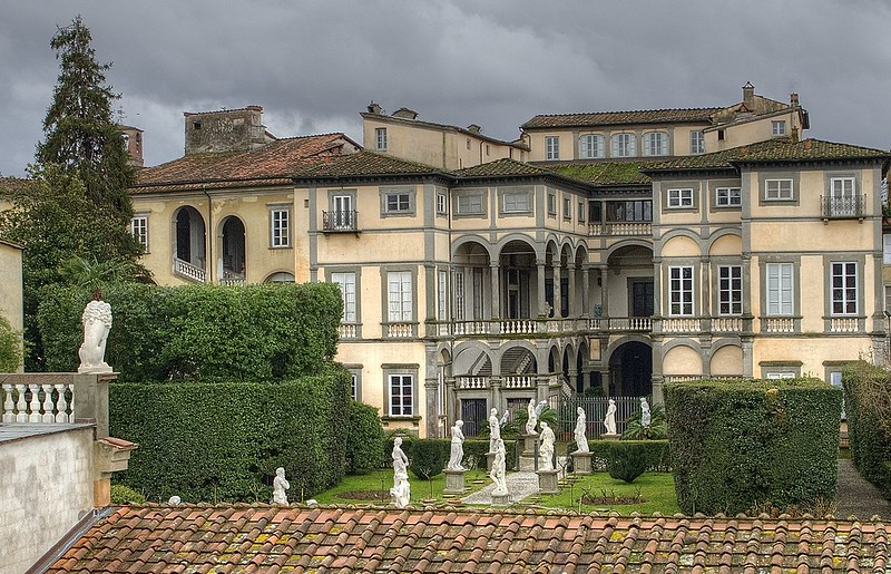 Palazzo Pfanner. (Lucca-Italy)