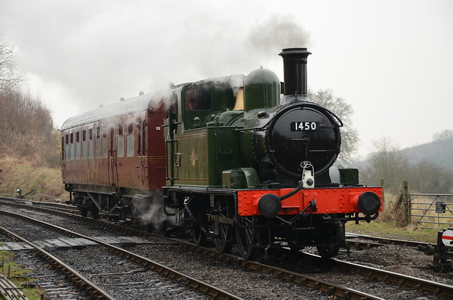 GWR 14xx Class 1450 & Autocoach Chaffinch