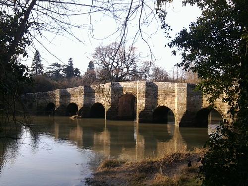 Stopham Bridge Amberley to Pulborough