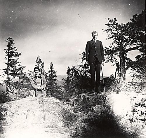 Maria og Vidkun Quisling, 1930-tallet.