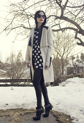 Outfit | Very by Vero Moda, Gina Tricot, Cubus and Marc Jacobs tranclucent sunglasses | by Barbro Andersen