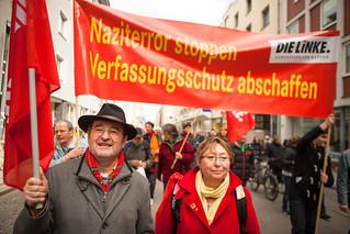 Demonstration zum NSU Prozess München-12   by linksfraktion