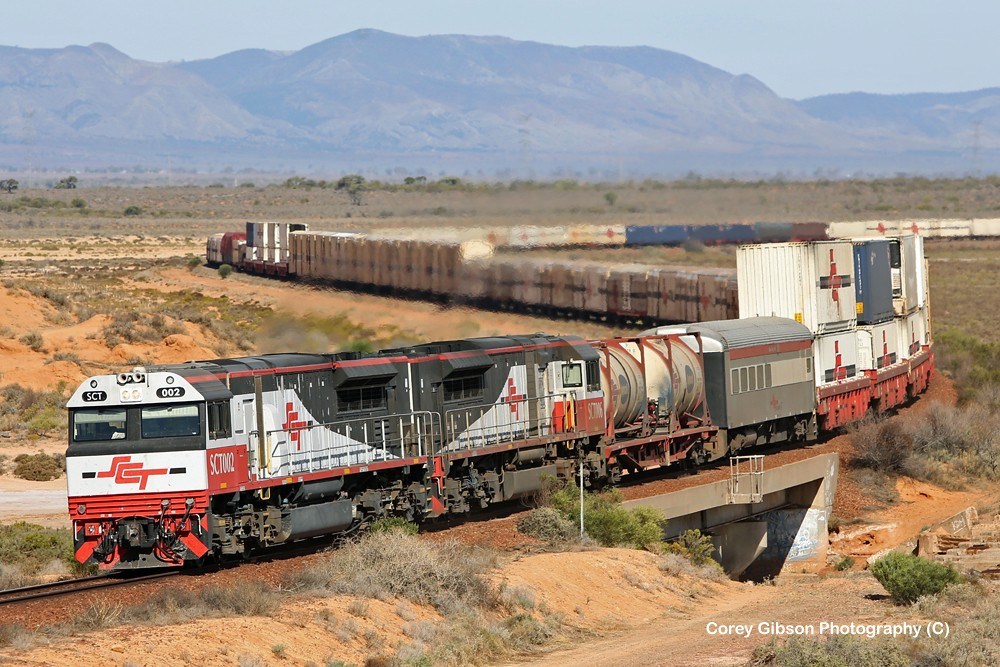 SCT002 & SCT006 at Yorkey's Crossing with the 3MP9 by Corey Gibson