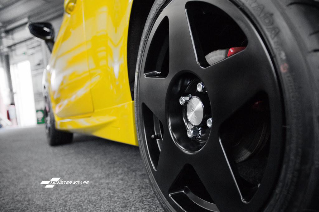 Ford Fiesta ST - Gloss metallic yellow & Ceramic PRO