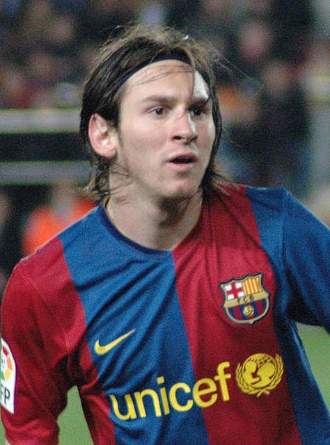 weird facts about Lionel Messi