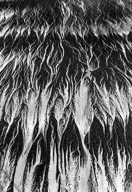 Sand patterns, Sunset Bay